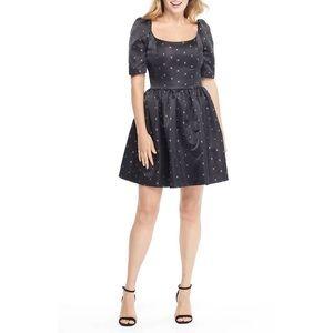Gal Meets Glam Maude Daisy Satin Bow Back Dress 2